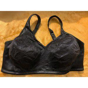 Playtex Undercover Slim Bra Size 44D Black